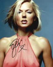 Geri Halliwell Autograph Signed Photo - Spice Girls